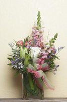 Hvordan lage en Floral Bouquet Siste