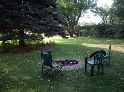 Backyard Fire Pit Juridisk ideer