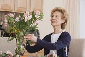 Hva vil holde Flowers Fresher lenger?