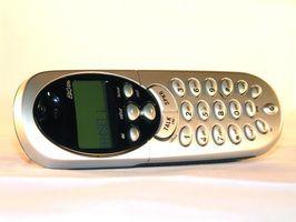 Hvordan du rengjør metallkontaktene på en trådløs telefon