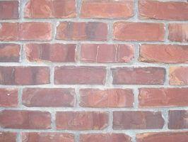 Hvordan Clean Red Bricks Med en Power Washer