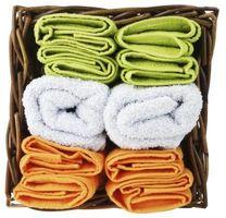 Hvordan bli kvitt en mugne lukten i Colored Håndklær