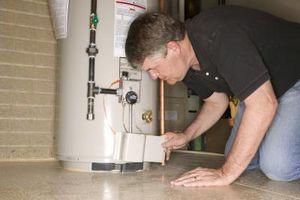 Har lav Hot Water Pressure Mean en dårlig vannvarmer?