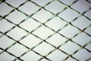 Slik installerer en Sveiset Wire Fence Med U-innlegg