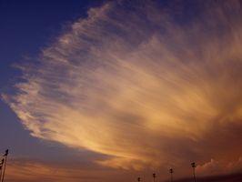 Er Det Advarsel tegn Før en Dust Storm skjer?
