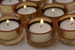 Slik fjerner Candle Wax Fra Metal