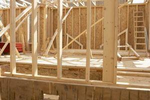 Framing et rom under et Deck