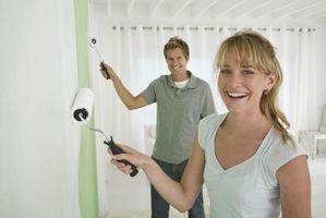Hvordan Paint en Wood Grain Effekt på en vegg