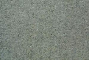 Hvordan få Svart Marks Av en Betong Driveway