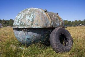 Slik fjerner en Inground Oil Tank