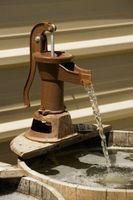 DIY Bucket & tappekran Fountain