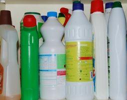 Egenskapene til Rengjøring Ammoniakk