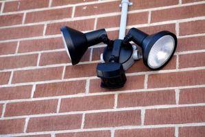 Slik installerer Security Lighting