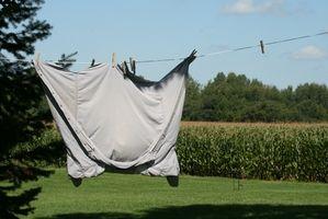 Hvordan lage en talje-type klær tørking linje