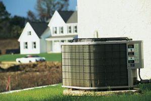 Hva som forårsaker en kondensator til Go Bad i en A / C Unit?