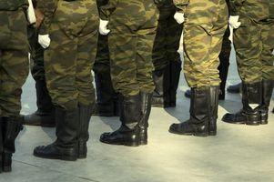 Slik fjerner lukt fra militære uniformer