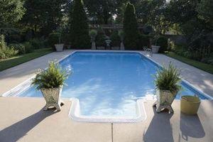 Fordeler med glassfiber Over Betong Pools