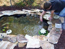 Bygging av en DIY Pond