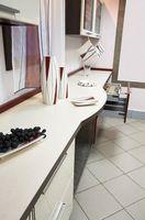 Den billigste måten å Fastsette Benkeplater i en Kitchen