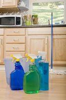 Den beste måten å tørke en kjøkkengulvet